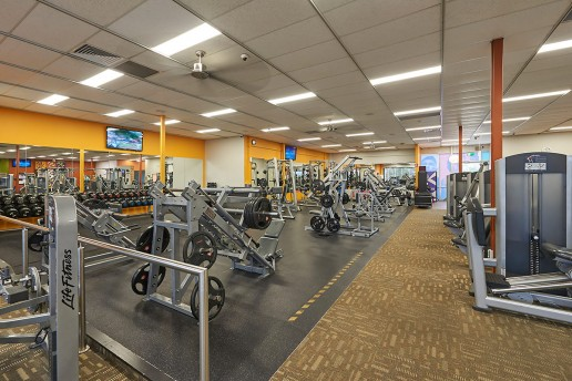 Interior Photography Anytime Fitness