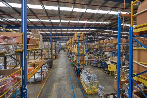 Warehouse Interior Photography