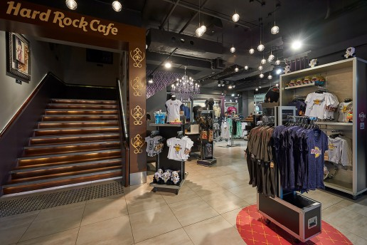 Interior Photography HARD ROCK CAFE SYDNEY