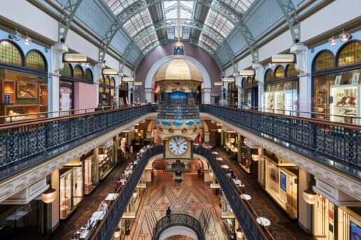 Interior Photography, Queen Victoria Building