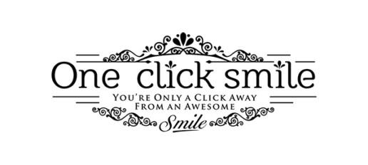 one click smile